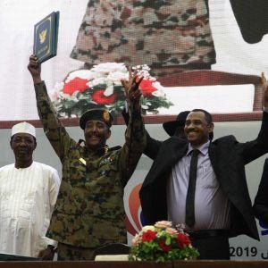 Sopimus vallanjaosta tehtiin Khartoumissa 17. elokuuta.