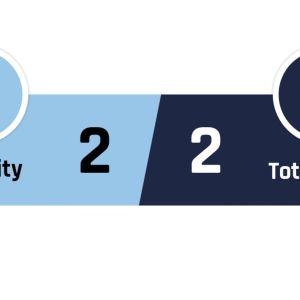 Manchester City - Tottenham 2-2