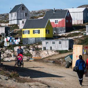Kulusukin kylä Grönlannissa.