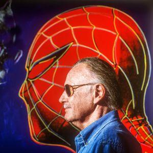 Stan Lee ja Spiderman.