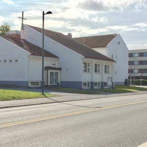 Heinätorin seurakuntatalo Oulussa