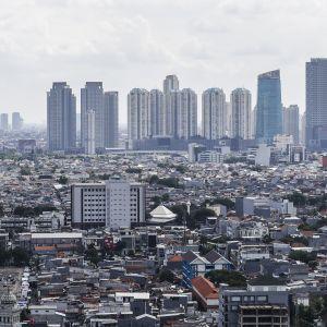 Näkymä Jakartasta 2. toukokuuta 2019.