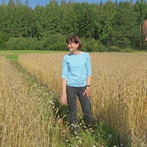 Luonnonvarakeskuksen Marja Jalli ja Terho Hyvönen