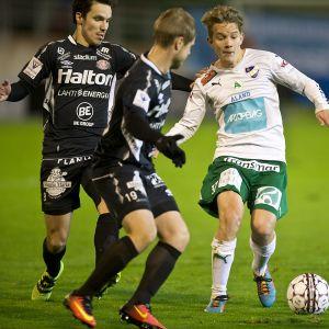 Robin Sid, IFK Mariehamn #17 Veikkausliigan jalkapallo-ottelu, FC Lahti vs. IFK Mariehamn 17.10.2016,