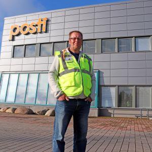 Oulun ja Ylivieskan Postin pääluottamusmies Jari Niemelä 3.9.2019