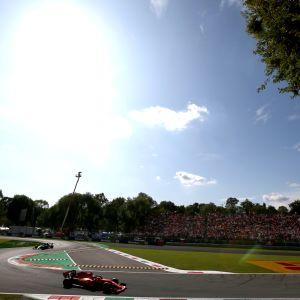 Charles Leclerc Italian GP
