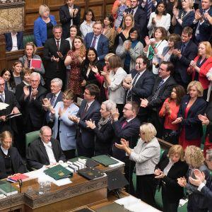 Parlamentin puhemies John Bercow käytti henkilökohtaisen puheenvuoron Brexit-käsittelyn alussa 9. lokakuuta.