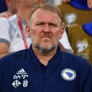 Robert Prosinecki, Bosnian valmentaja