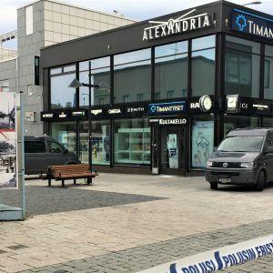 Kultasepänliikkeeseen murtauduttiin Lappeenrannan keskustassa 11.9.2019.