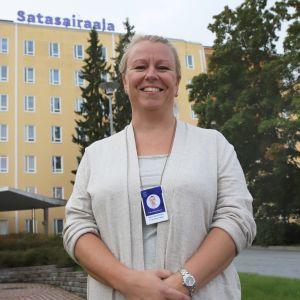 Hyvinvointianalyytikko Minna-Maarit Ampio.