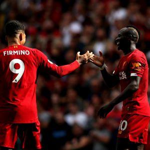 Firmino ja Mané, Liverpool