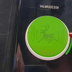 Porokello -mobiilisovellus kännykän näytöllä.