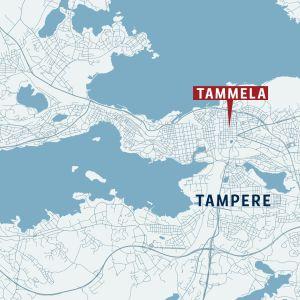 Tampere kartta