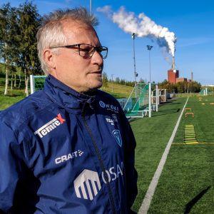 AC Oulun päävalmentaja Rauno Ojanen 18.9.2019