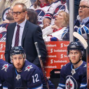 Winnipeg Jetsin päävalmentaja Paul Maurice