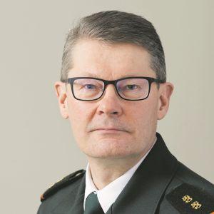 Rajavartiolaitoksen päällikkö kenraalimajuri Pasi Kostamovaara.