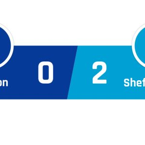 Everton - Sheffield United 0-2