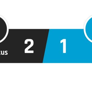 Juventus - Hellas Verona 2-1