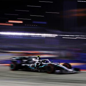 Valtteri Bottas Singaporen GP:ssä su 22.9.