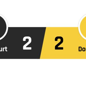 Frankfurt - Dortmund 2-2