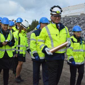 Pääministeri Antti Rinne Eurajoella 23.9.2019.
