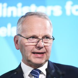 Maatalousministeri Jari Leppä
