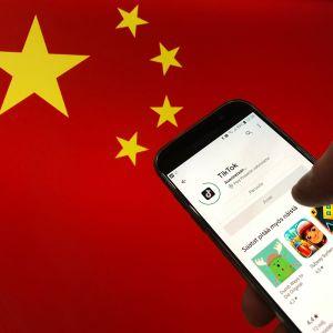 TikTok on Kiinalaisen Byte-Dance-yhtiön palvelu, jonka suosio kasvaa nopeasti.