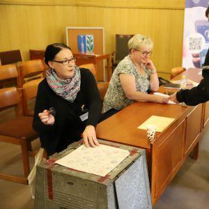 Kaskisissa äänestettiin kuntaliitoksesta Närpiön kanssa.