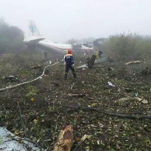 hätälaskun tehnyt kone pellolla