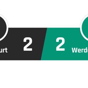 Frankfurt - Werder Bremen 2-2