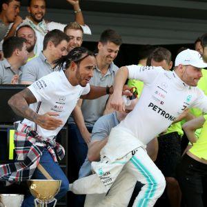 Lewis Hamilton, Valtteri Bottas, Japani 2019