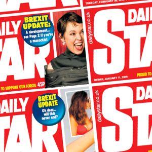 Daily Star -lehden kansien osia