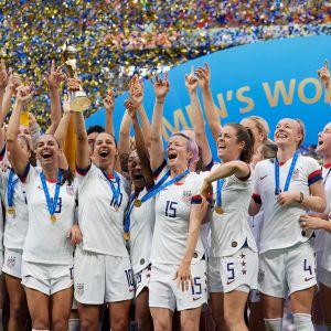 Yhdysvaltain MM-voittajajoukkue jalkapallo naiset