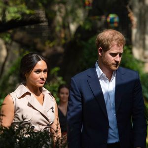 Sussexin herttuatar Meghan Markle  ja prinssi Harry