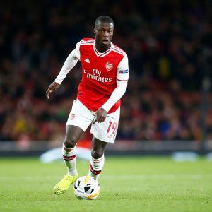 Arsenalin Nicolas Pepe kuvassa