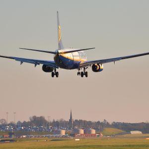 Ryanairin Boeing 737NG.