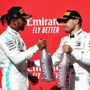 Lewis Hamilton, Valtteri Bottas, Austin 2019