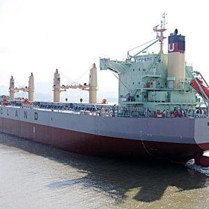 Varustamon arkistokuva MV Bonita -aluksesta.