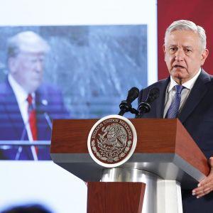 Meksikon presidentti Andres Manuel Lopez Obrador.
