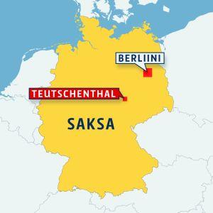 Saksan kartta.