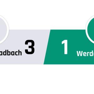 Mönchengladbach - Werder Bremen 3-1