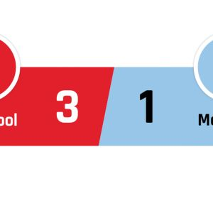 Liverpool - Manchester City 3-1