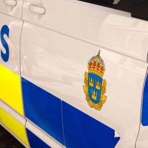 Ruotsalainen poliisiauto