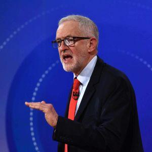 Britannian työväenpuolueen puheenjohtaja Jeremy Corbyn BBC:n Question Time -ohjelmassa