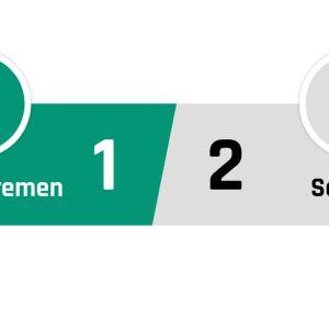 Werder Bremen - Schalke 1-2