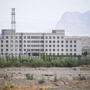Muslimien vankileireillä läntisessä Xinjiangin maakunnassa.