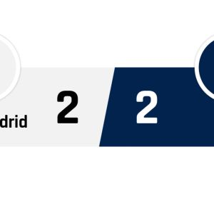 Real Madrid - PSG 2-2