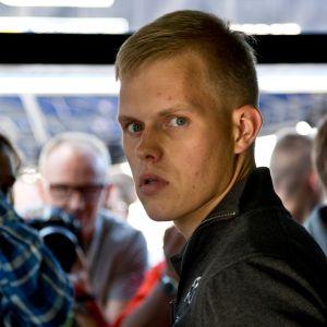 Markko Märtin on hoitanut jo pitkään Ott Tänakin asioita. Kuva vuodelta 2017 Jyväskylän MM-rallista.