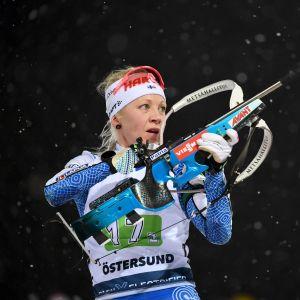 Kaisa Mäkäräinen Östersund LEHTIKUVA