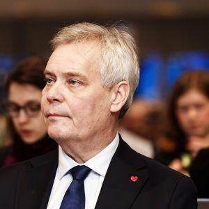 Pääministeri Antti Rinne osallistui jäsenmaiden kansallisten parlamenttien EU-valiokuntien ja Euroopan parlamentin edustajien COSAC-konferenssiin Helsingissä 2. joulukuuta.